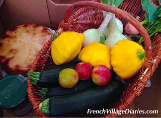 French Village Diaries Garden Club Show potager orchard vegetable gardening