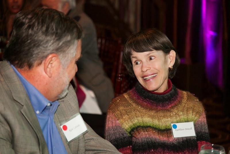 Ken Larson and Kathleen Dowell. September 25, 2013; San Francisco, CA, USA; Photo by Eric Slomanson / slomophotos.com