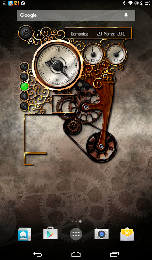 XtraOClock Steampunk Widget Screenshot 19