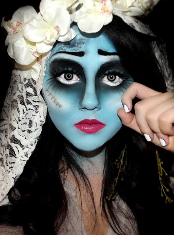 Fabuloso Pra inspirar: maquiagem de Halloween! - Lu Ferreira | Chata de  YU72