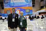 Mr Hafiz Imran and I.