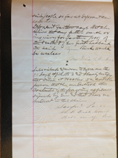 Affidavit of Delia A. Hooker, 24 April 1883, p. 3