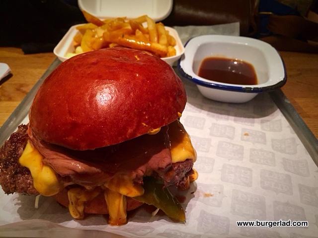 Dip & Flip Burger