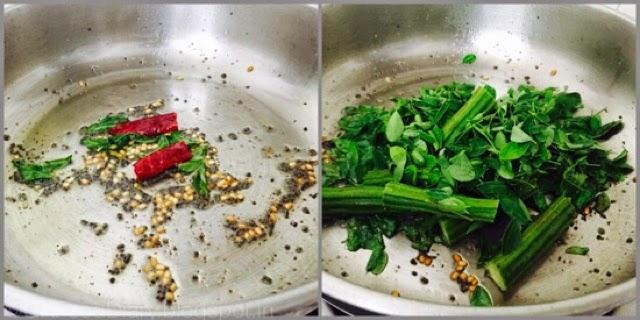 Poricha Kuzhambu Recipe| Drumstick leaves Poricha Kulambu|kuzhambuRecipes 4