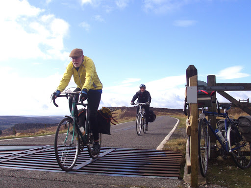 Paul Lohr, Nina at the top of the climb to Higger Tor