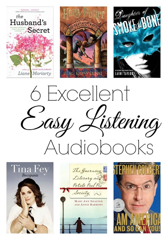 6 great audiobooks