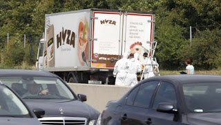Autriche: au moins 20 migrants retrouvés morts dans un camion
