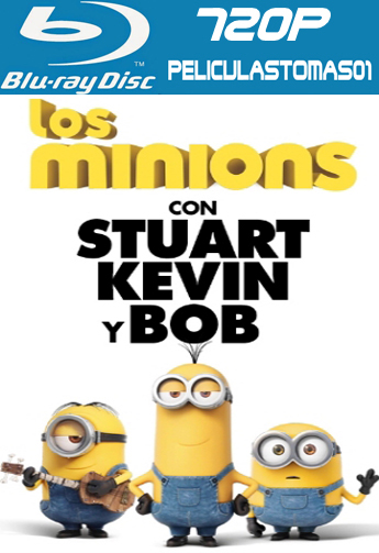 Los Minions (2015) [BRRip 720p/Dual Latino-ingles]