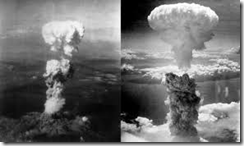 Atomic Bombs Over Hiroshima and Nagasaki