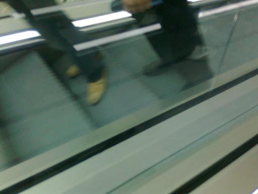 Morocco Mall escalator