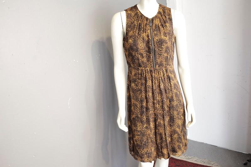 Burberry Brit  Animal Print Dress