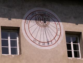 """zegar słoneczny """"ścienny"""""""
