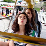 kisses in the enterprise at Canada's Wonderland in Vaughan, Ontario, Canada