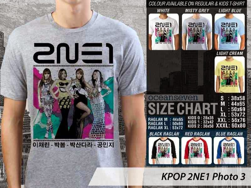 Kaos 2ne1 3 Photo K Pop Korea distro ocean seven