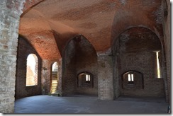 Fort Clinch Gun turrets