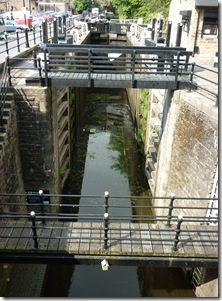 3 tuel deep lock from road bridge