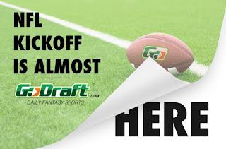GoDraft.com DFS NFL Week 1
