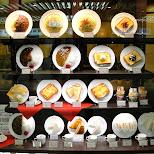 some quality dishes at Osaka station in Osaka, Osaka, Japan