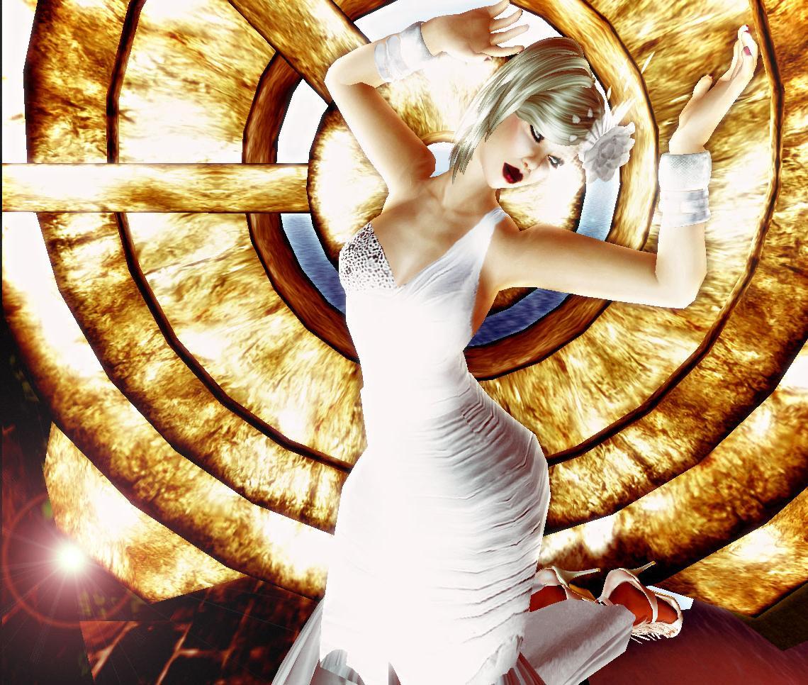 HEAD PIECE:ELEGANCE HATS- BETTY WHITE WEDDING