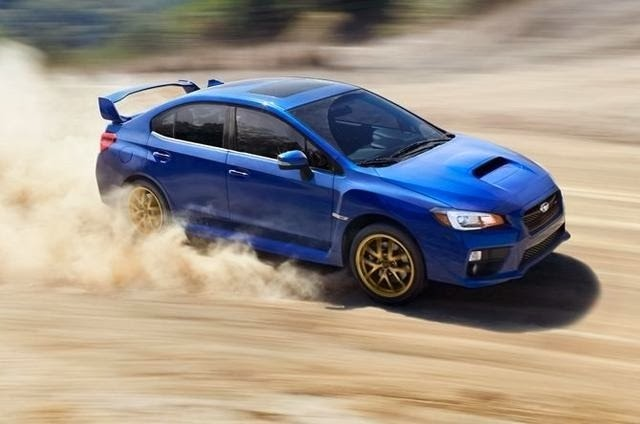 2015 Subaru WRX STI Leaked Photo 1
