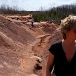 Cheltenham Badlands in Ontario, Canada in Caledon, Ontario, Canada