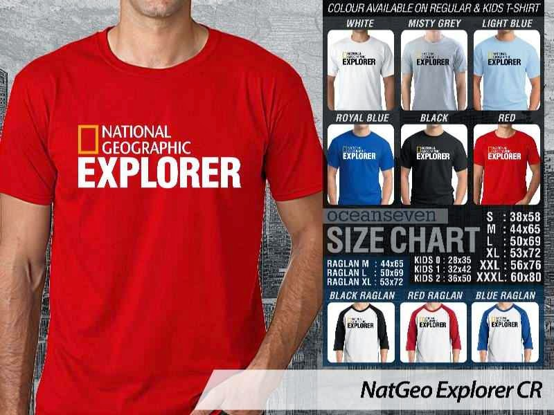 Kaos National Geographic NatGeo Explorer distro ocean seven