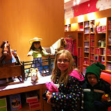 At the American Girl store in Chicago 01142012