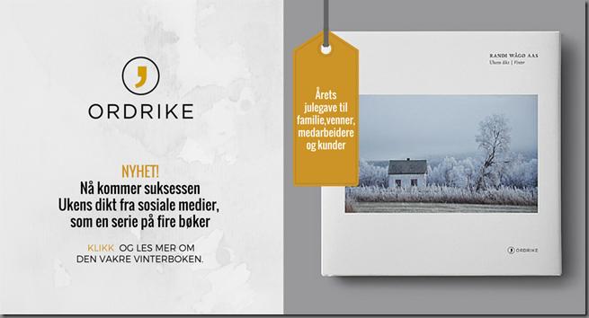 Ukens dikt Vinter annonse FB