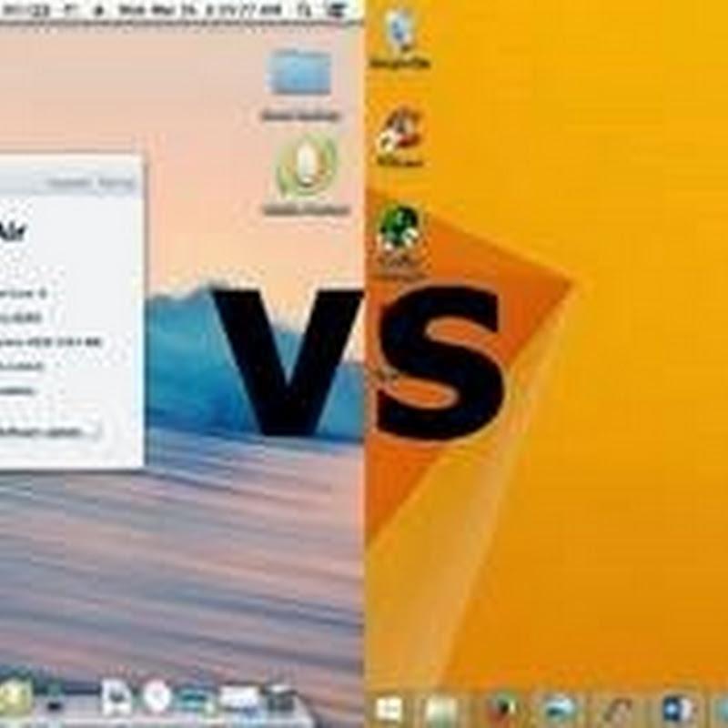 ANTARA WINDOWS DAN MAC OS (HACKINTOSH)