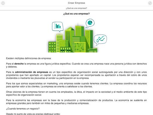 Curso de Creación de Empresas screenshot 13