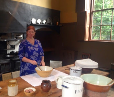 The kitchen at Ormesby hall, A National trust property near Middlesbrough