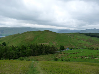 Watermillock Fell from the ascent of Little Mell Fell.