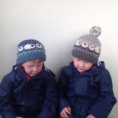 Donna Smith Designs Bairns Baa Ble Hats