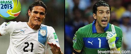 Uruguay vs Italia en Vivo - Copa Confederaciones 2013
