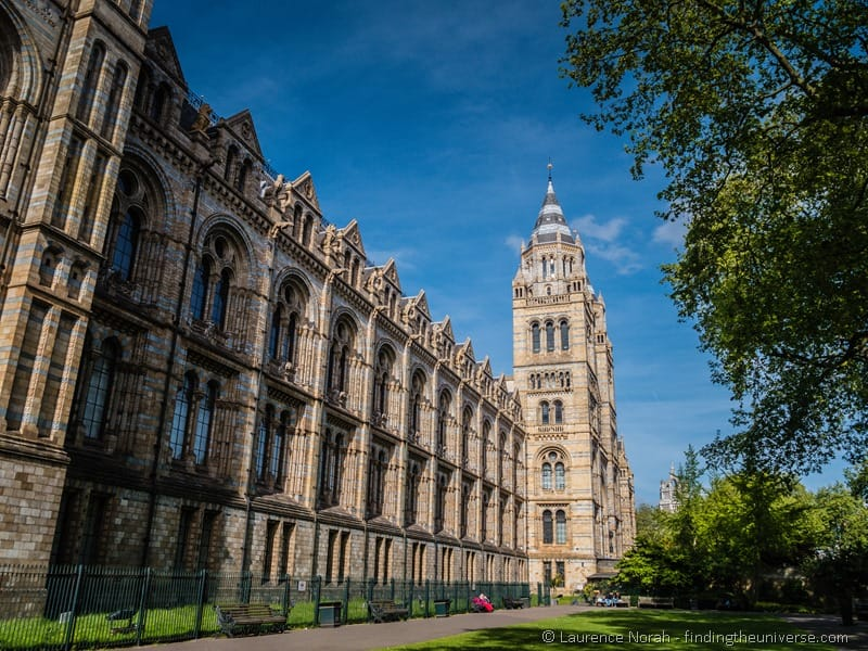 Natural History Museum London outside