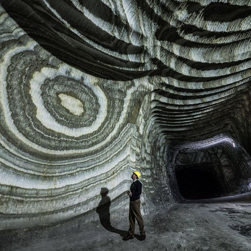The Realmonte Salt Mine in Sicily