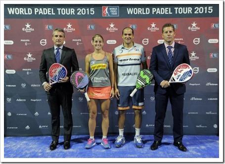 Presentado oficialmente el Madrid Open Estrella Damm 2015. #todosaporelreto.