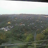 view from the bus in Prague, Prague - the Capital (Praha - hlavni mesto), Czech Republic