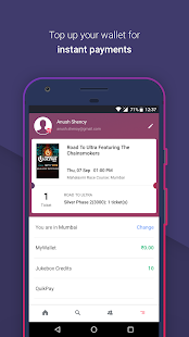 App BookMyShow–Movie Tickets,Plays apk for kindle fire