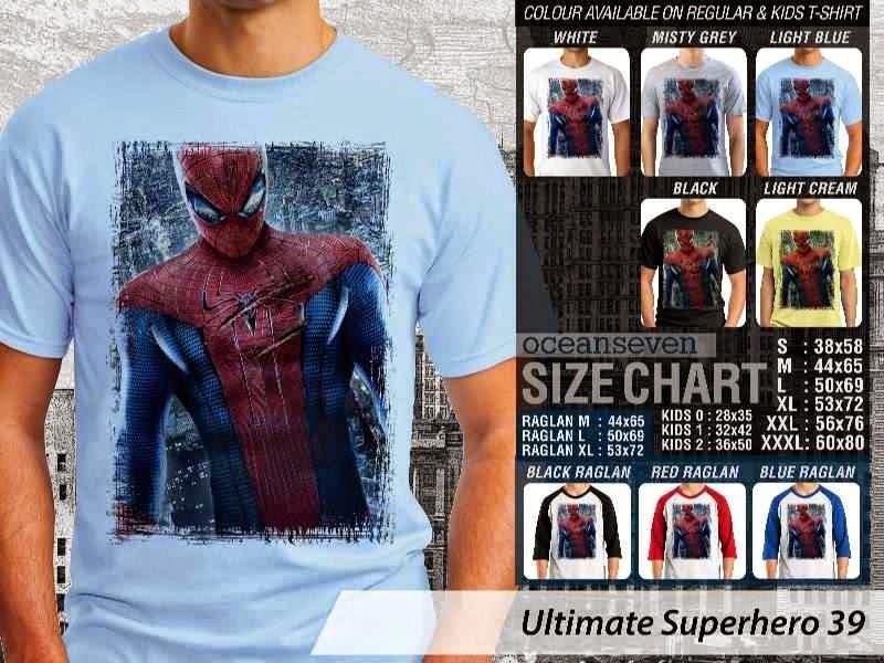 KAOS spiderman 39 Ultimate Superhero distro ocean seven