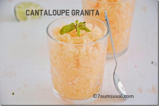 Cantaloupe granita | 7aum Suvai