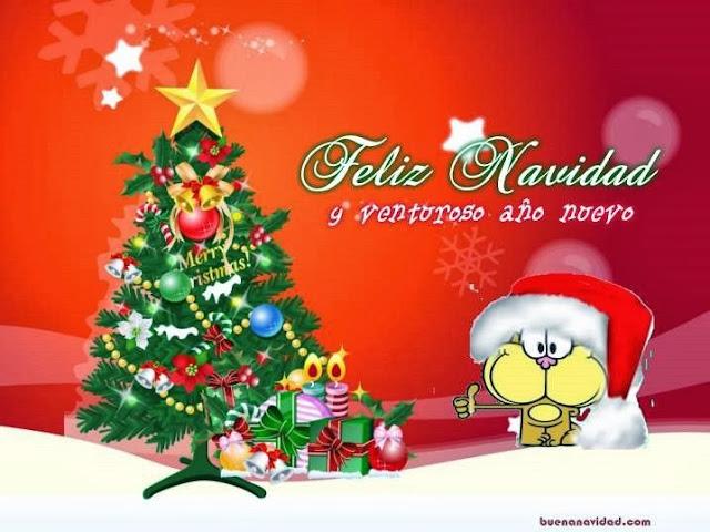 gaturro feliz navidad