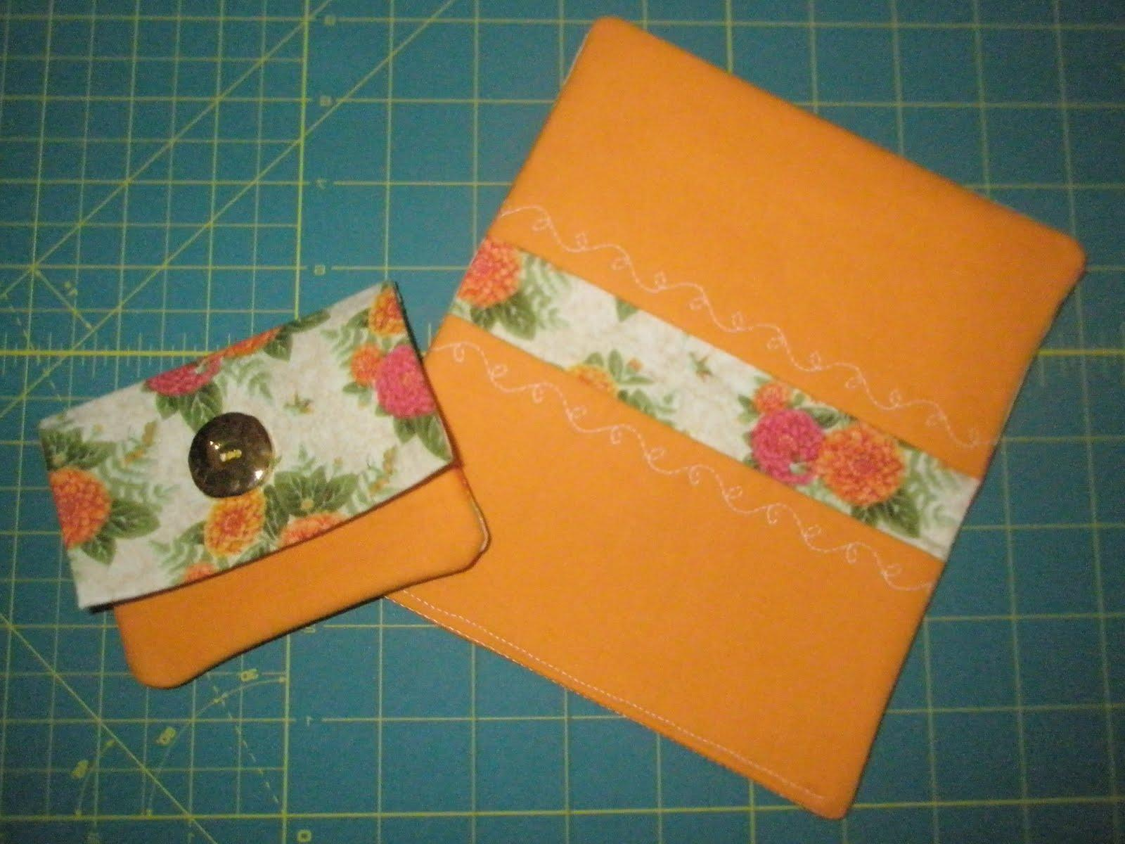 and a wallet card holder