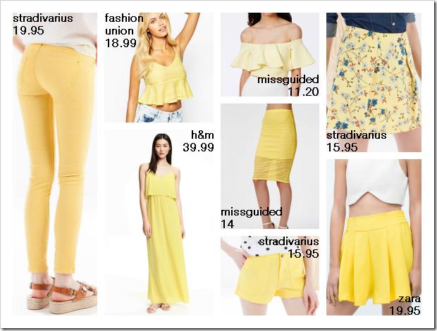 Amarillo tendencia verano 03