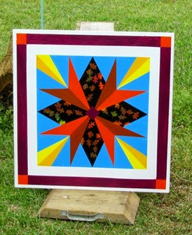 1503190 Mar 21 My Canadian Compass Barn Quilt