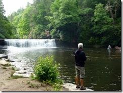 Dan at Hooker Falls