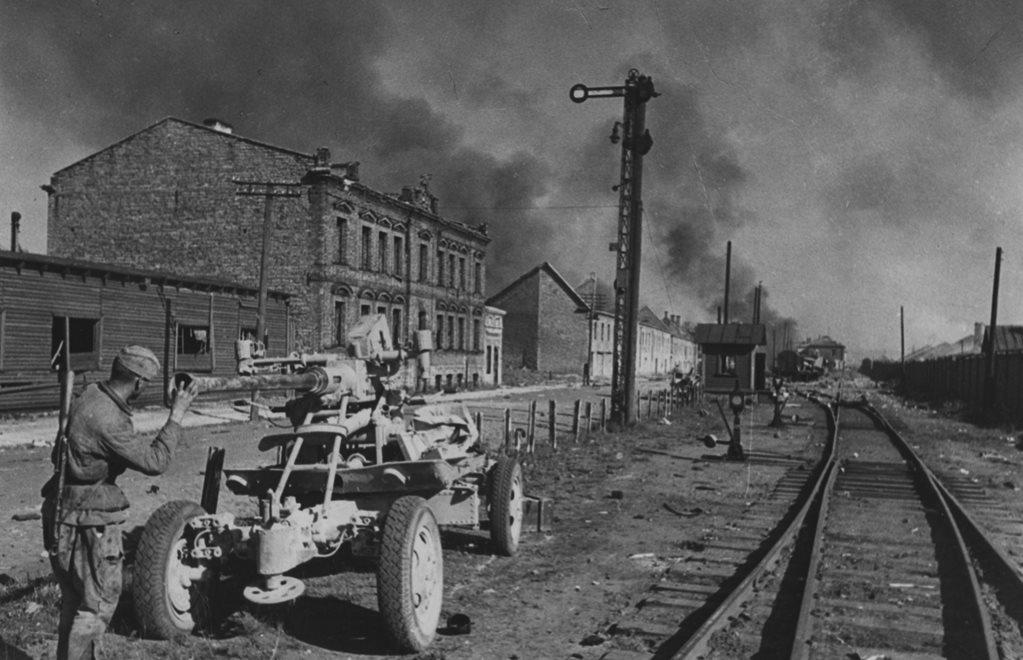 12 октября 1944 г войска 3-го прибалтийского фронта завязали бои в восточной части риги