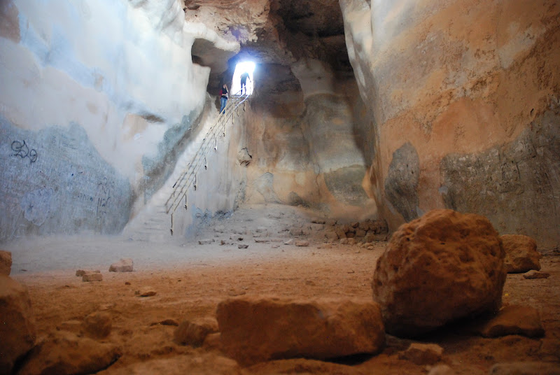 Zbiornik na wodę w Masadzie