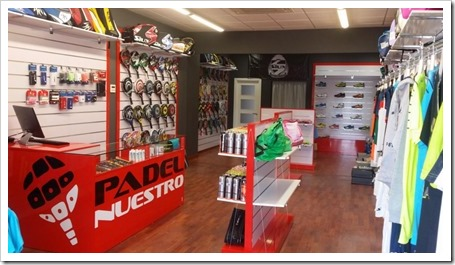 Padel Nuestro abre nueva tienda de pádel en Chiclana de la Frontera.