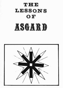 Cover of Asatru Free Assembly's Book The Lessons of Asgard
